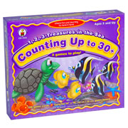 123 Treasures In The Sea - Counting Up To 30 Game