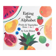 Eating the Alphabet Lap Board Book