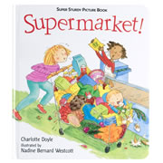 Supermarket! Super Sturdy Picture Book