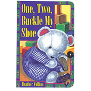 One, Two, Buckle My Shoe Board Book