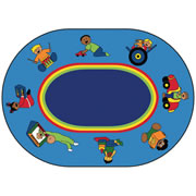 "Infant Toddler Carpet 6'9"" x 9'5"""