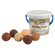 Multicultural Dough Set of 6