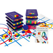 Hands-On-Standards: PreK-K Manual and Manipulatives Kit