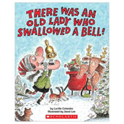 There Was An Old Lady Who Swallowed A Bell! - Paperback