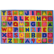 "ABC and Numbers Rug 39""x58"""