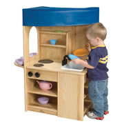 Ash Toddler All-In-One Kitchen