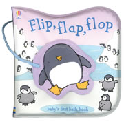 Flip, Flap, Flop (Vinyl Bath Book)
