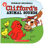 Clifford's Animal Sounds - Board Book