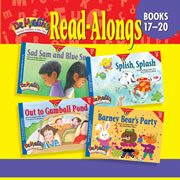 Dr. Maggie's Phonics Readers Read-Along CD for Books 17-20