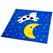 Cow Jumped Over the Moon Mat
