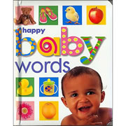 Soft to Touch Words (English) - Board Book
