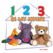 123s In My House - Board Book