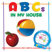 ABCs In My House - Board Book