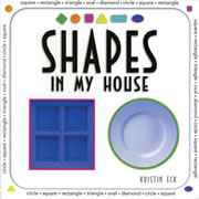 Shapes in My House - Board Book