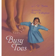 Busy Toes - Board Book
