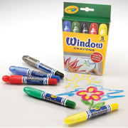 Window Crayons (Single Box)