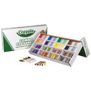 Crayola® Combo Washable Marker and Large Crayon Classpack