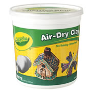 Crayola® Air Dry Clay (5 lb Bucket)