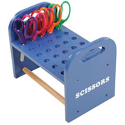 Wooden Scissor Rack