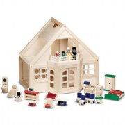 Furnished Doll House by Melissa & Doug