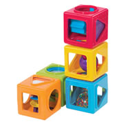 Stack-Up Shape Sorting Blocks (set of 5)