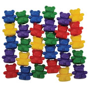 Papa Bear Counters (Set of 30)