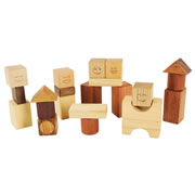 Face and Rattle Blocks