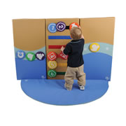 Toddler Soft Wall Activty Center