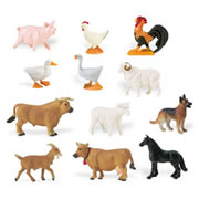 Farm Animal Minis (Set of 12)