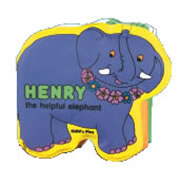 Henry the Helpful Elephant - Vinyl Book