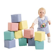 Toddler Baby Blocks Pastel