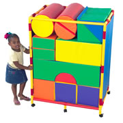 Trolley for Soft Blocks Set A (blocks sold separately)