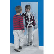 See-Thru-Me Skeleton Mirror