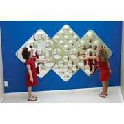 Diamond Bubble Mirror