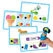 Hot Dots® Jr. Colors Cards