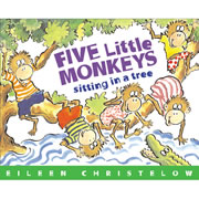 Five Little Monkeys - Paperback & CD