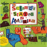 Scrambled States of America - Paperback & CD