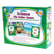 Science File Folder Games - Grades K-1