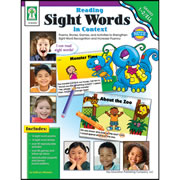 Reading Sight Words in Context