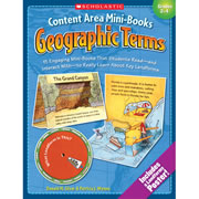 Content Area Mini-Books Geographic Terms