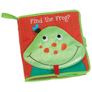 Find the Frog - Cloth Book