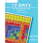 10 Days to Multiplication Mastery Workbook