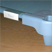 SpaceLine® Cot Name Clips (Set of 5)
