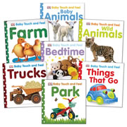 Baby Touch & Feel Board Book Set (Set of 7)