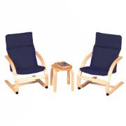Kiddie Rocker Chair Set, Blue
