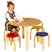 Nordic Table & Chairs (Color)