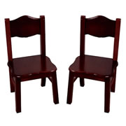 Classic Espresso Extra Chairs (Set of 2)