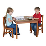 Mission Table and Chairs Set
