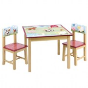 Farm Friends Table and Chairs Set