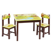 Jungle Party Table & Chairs Set